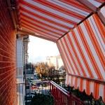 Tenda da sole Marcesa per terrazzi con persiane